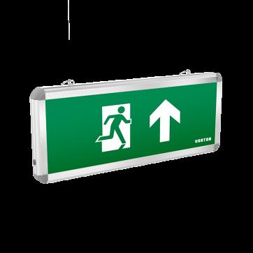 Авар-эвакуац световые указатели Basic с нанесенными пиктограммами