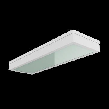 C170/GL 595*180х55 мм IP54 встраиваемые со стеклом